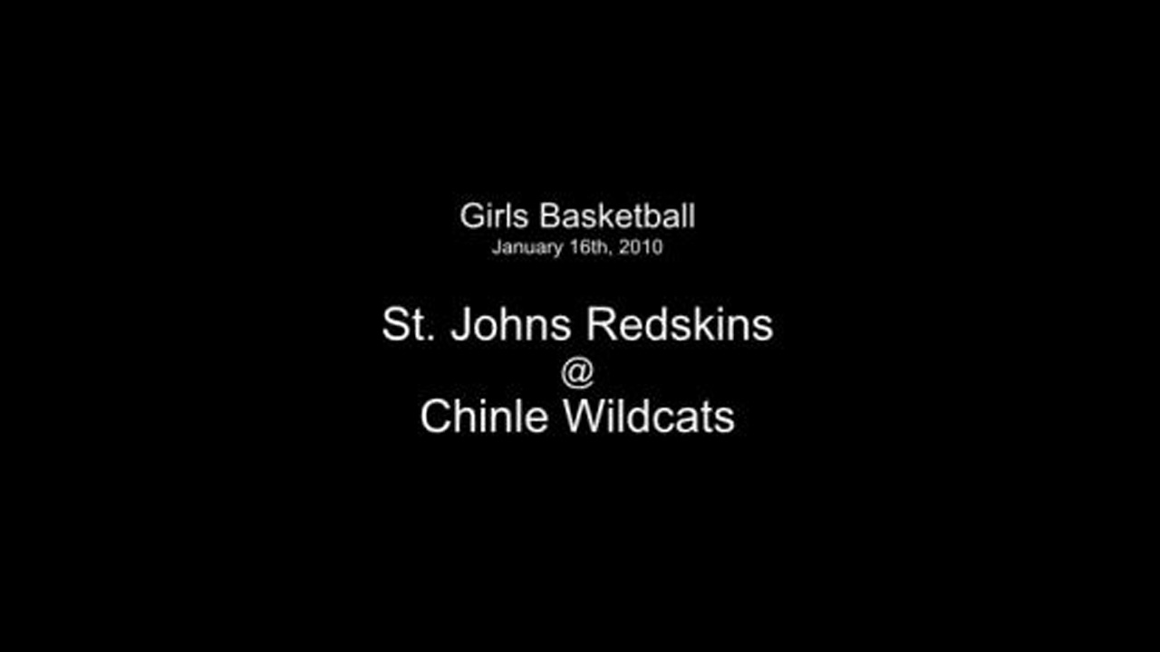 2010 Girls Basketball - Chinle