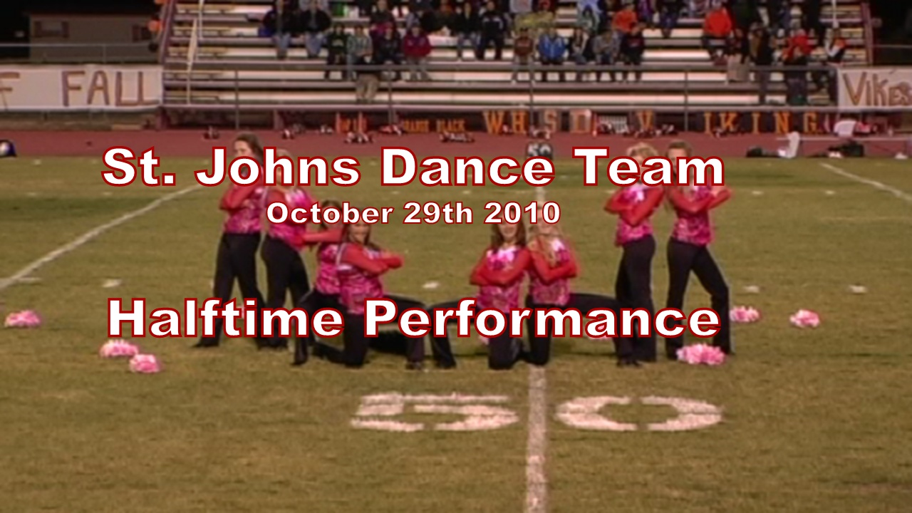 2010 Dance Halftime Performance - Williams