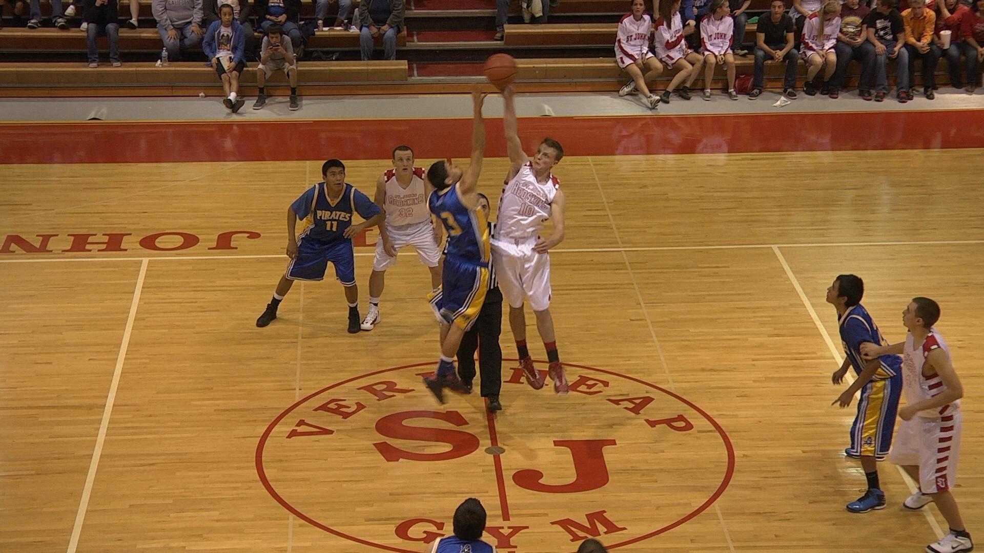 2012 Boys Basketball - Sanders Valley