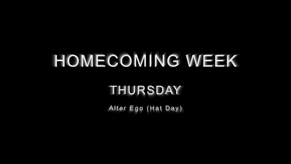 2014 Stuco - Homecoming - Thursday