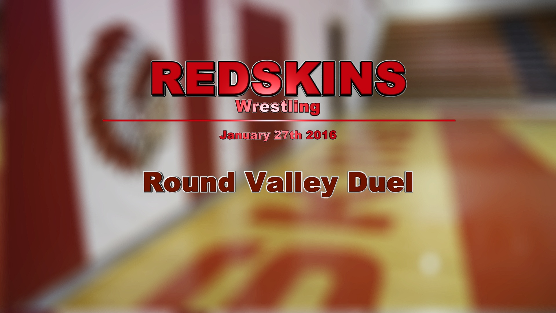 2016 Wrestling - St. Johns - Round Valley Duel