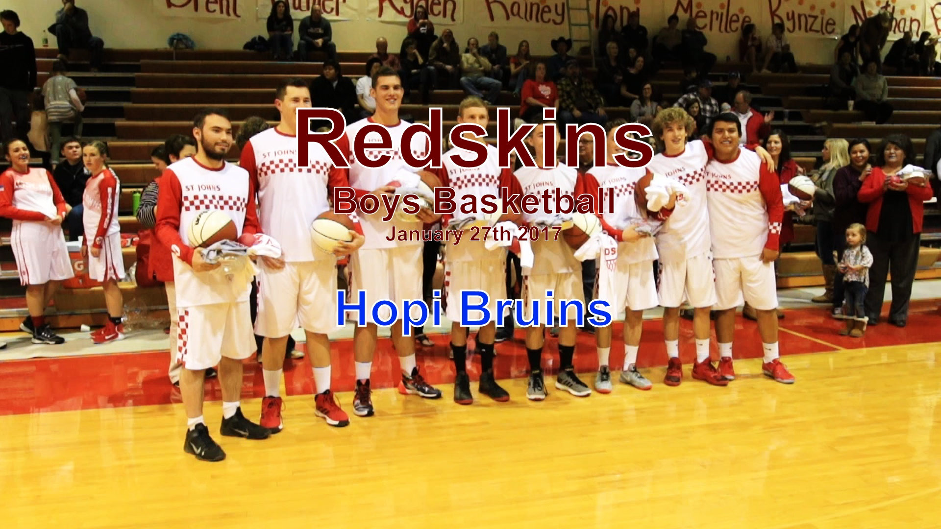 2017 Boys Basketball - Hopi
