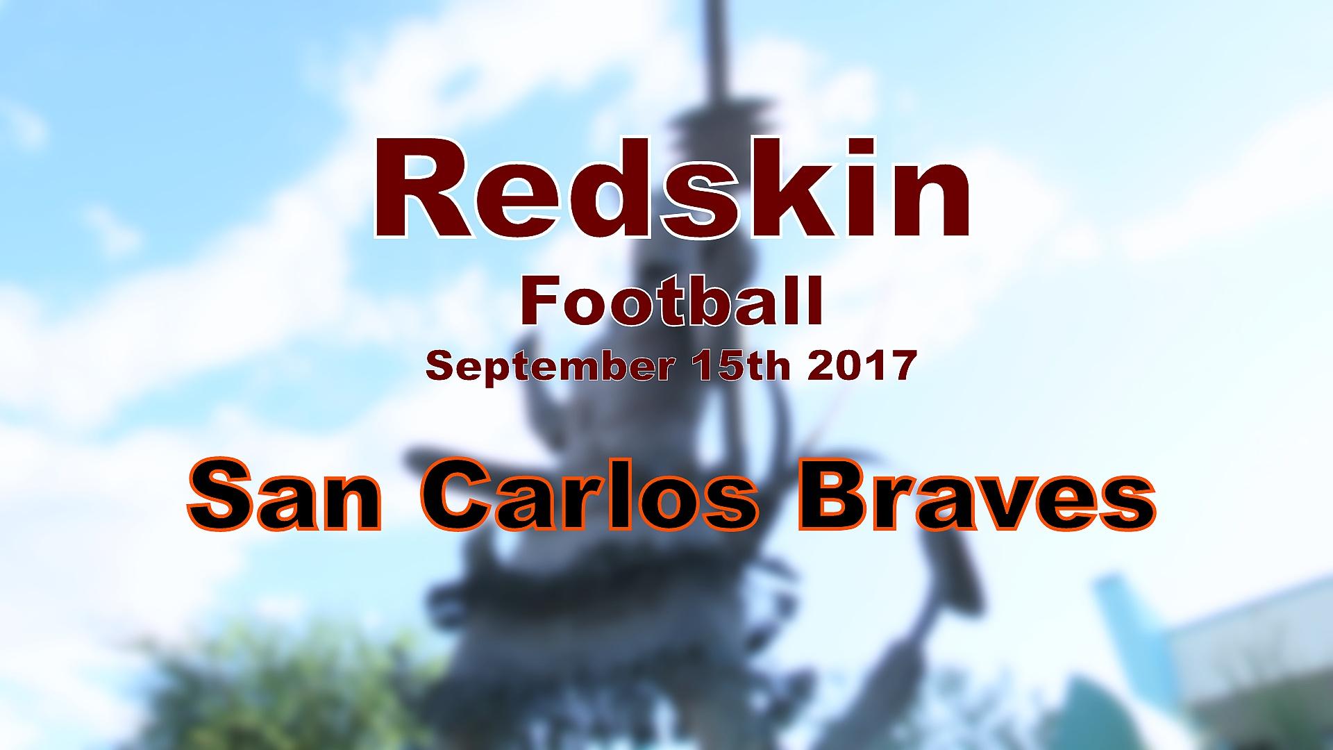 2017 Football - San Carlos