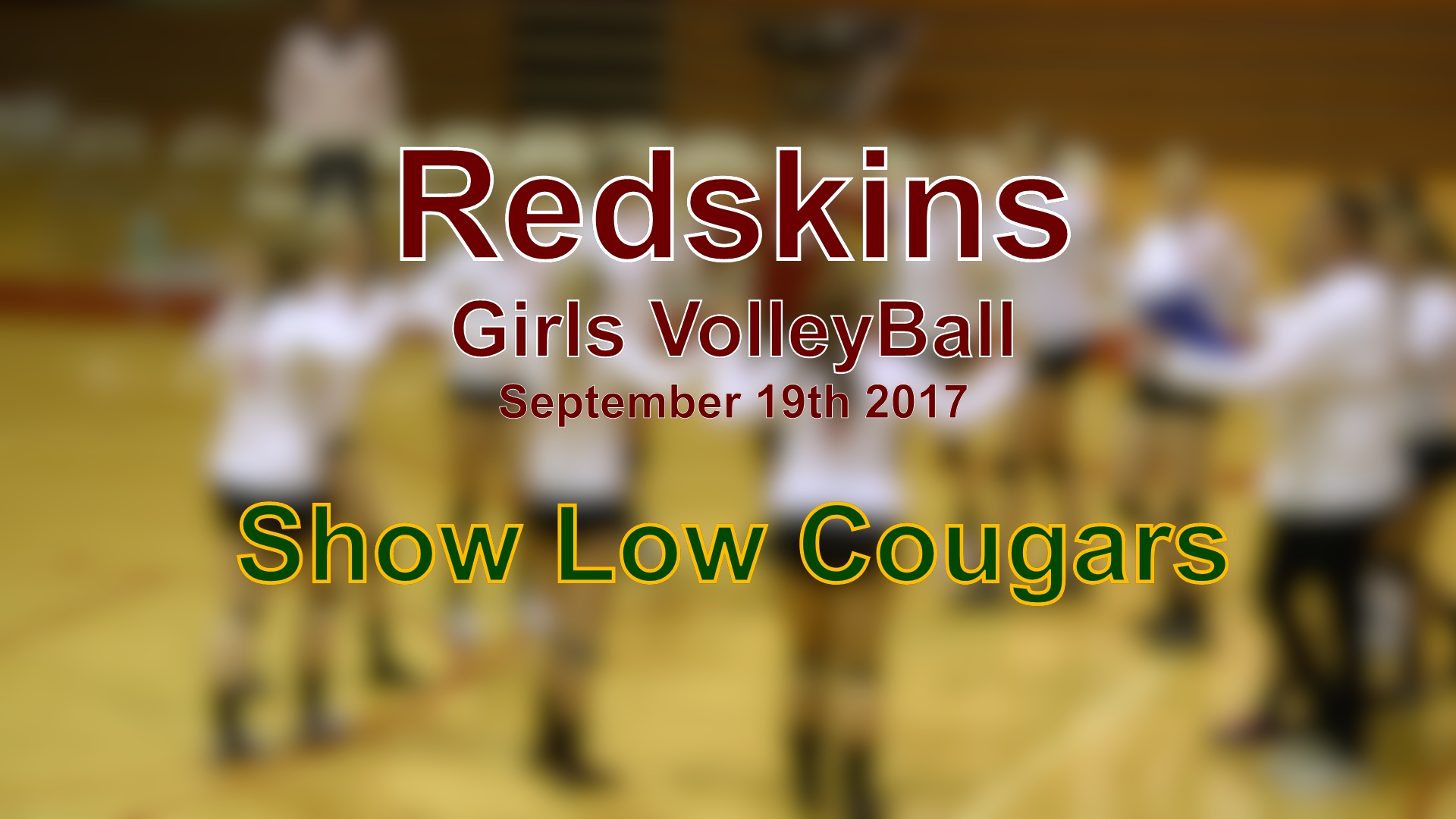 2017 Volleyball - Show Low