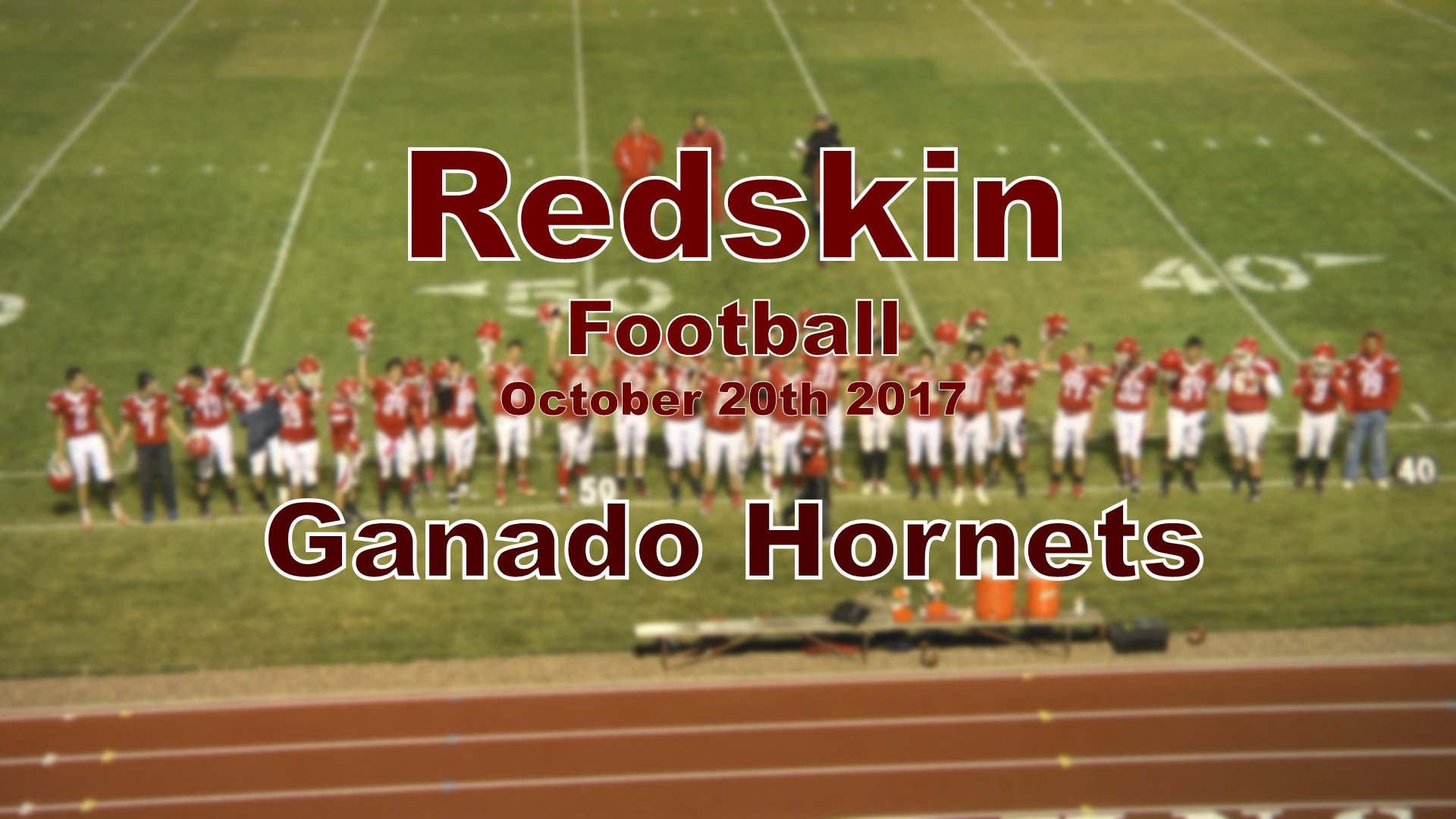 2017 Football - Ganado (Homecoming)