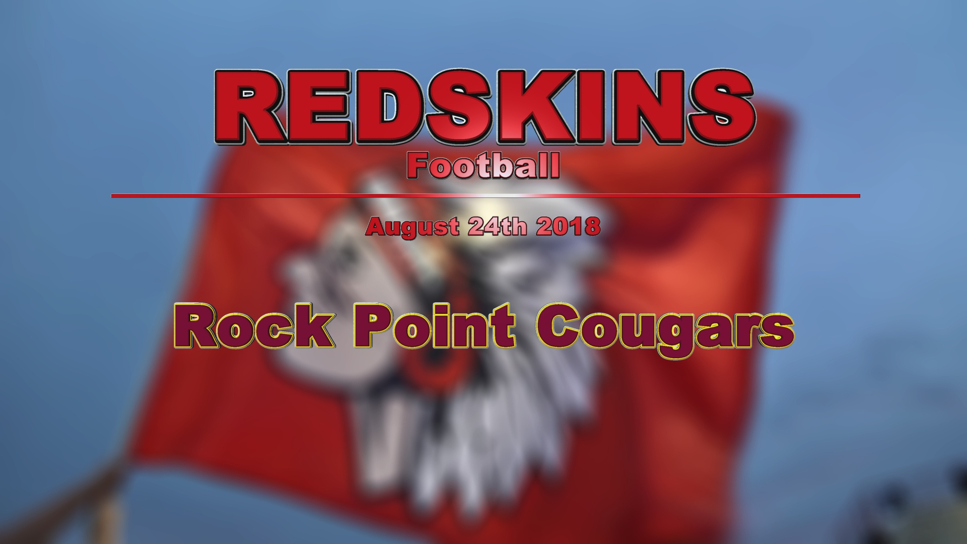 2018 Football - Rock Point