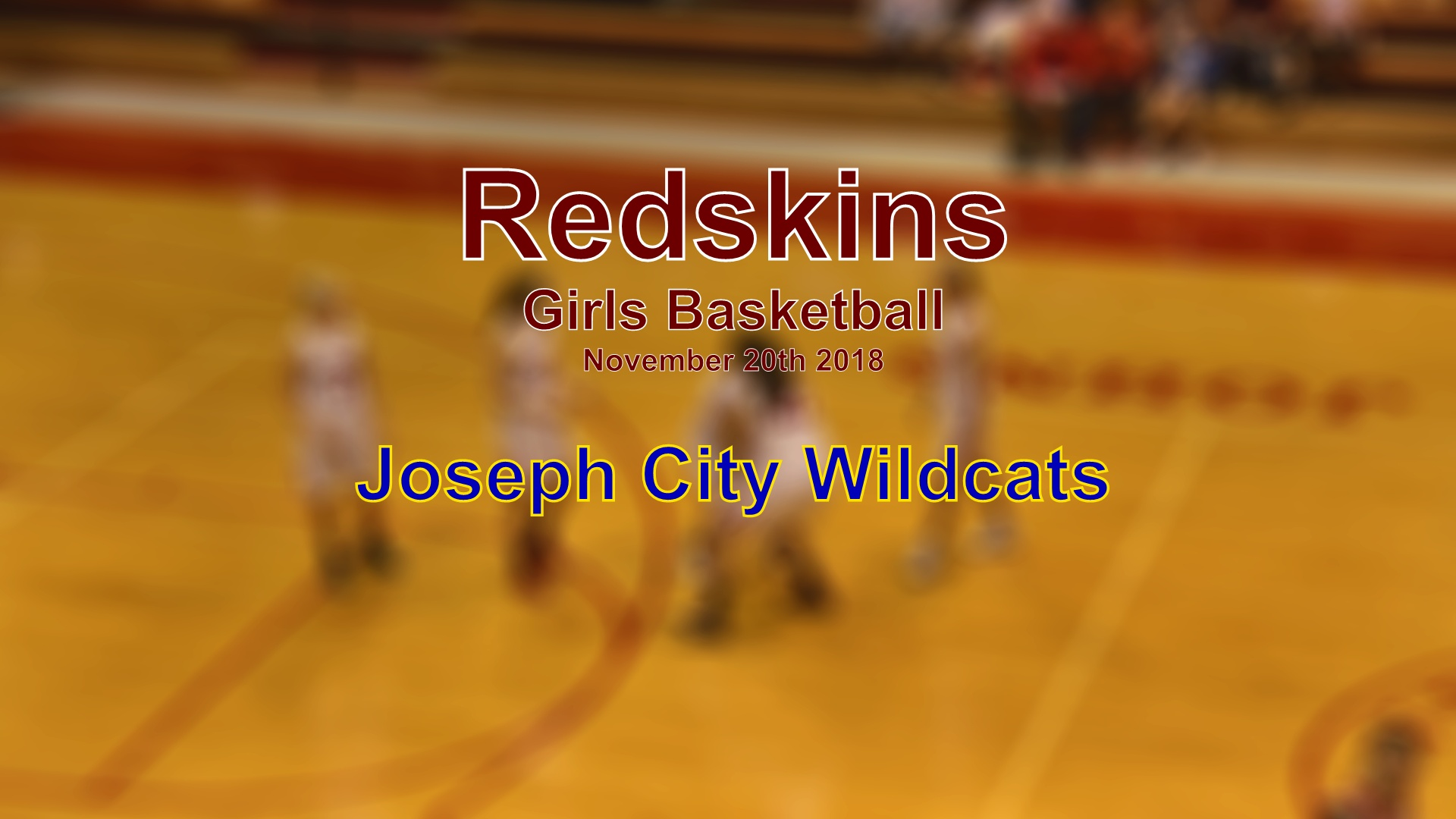 2018 Girls Basketball - Joseph City