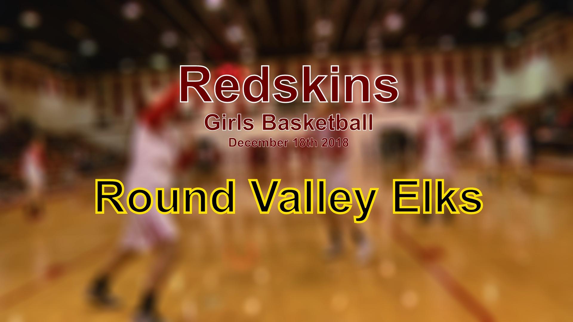 2018 Girls Basketball - Round Valley