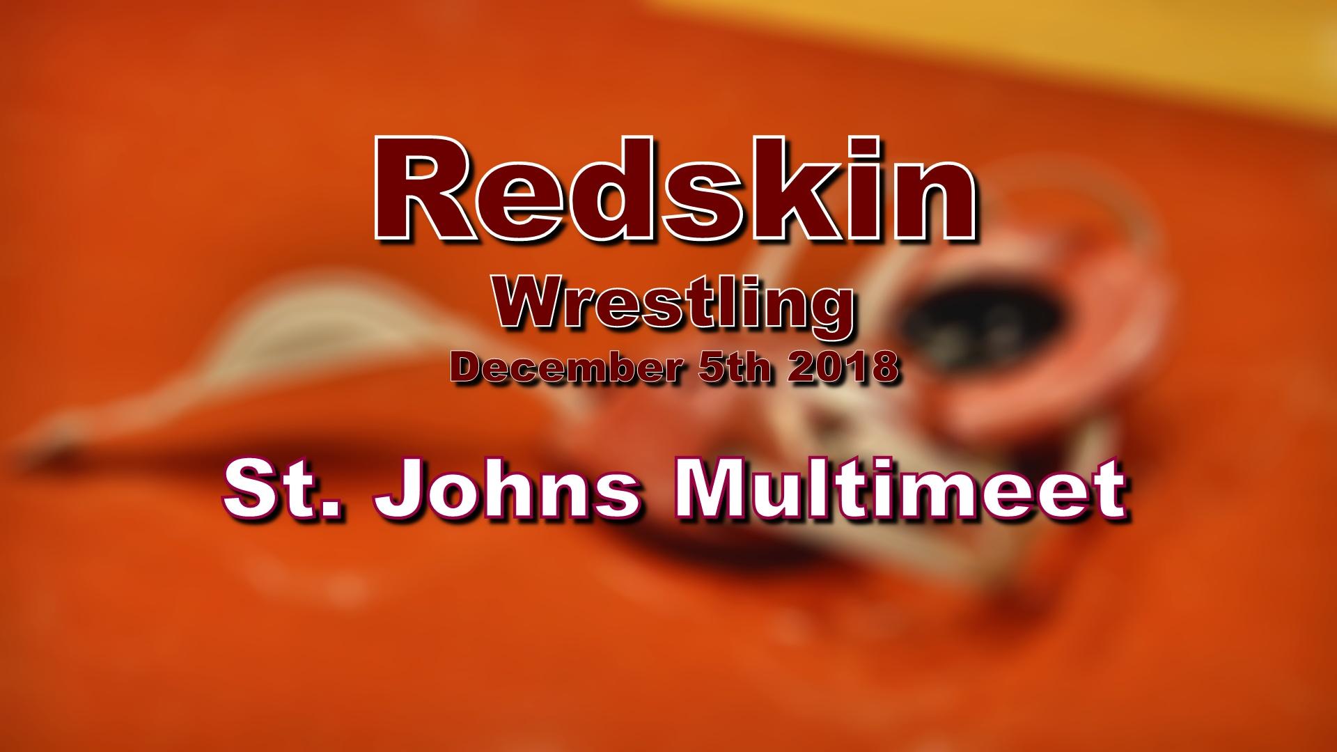 2018 Wrestling - Multimeet 12/5/2018