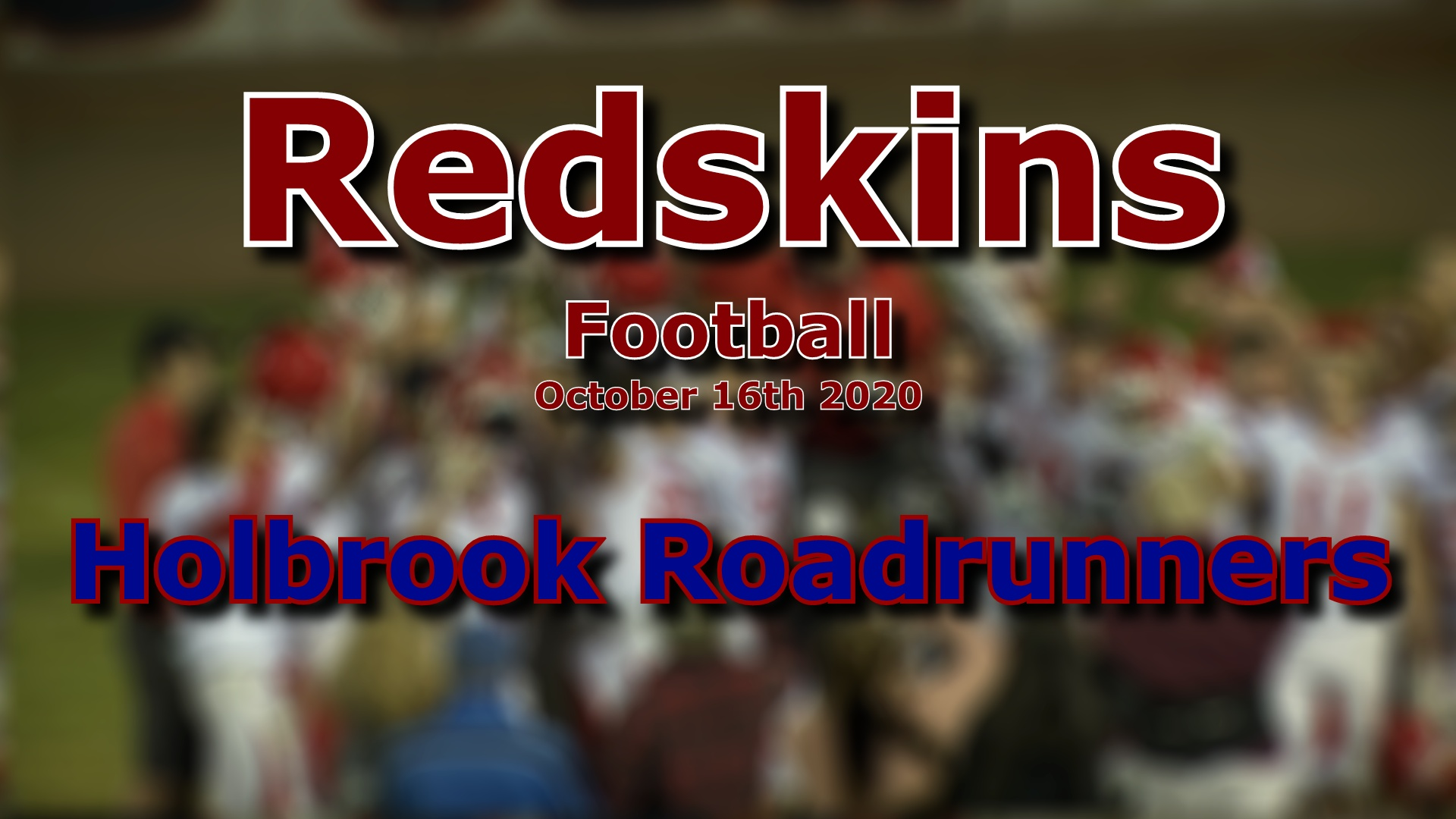 2020 Football - Holbrook