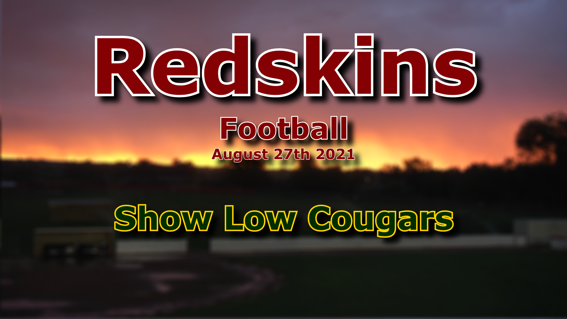 2021 Football - Show Low